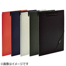 リヒトラブ [ファイル] SMART FIT クリップファイル (色:ブラック、サイズ:A4) F-7560-24