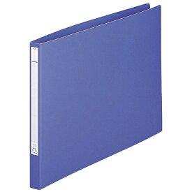 リヒトラブ LIHIT LAB. [ファイル] パンチレスファイル<HEAVY DUTY> (色:藍、規格:A3ヨコ型(E型)) F-376-9