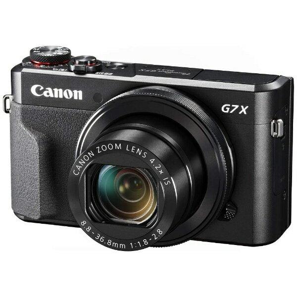 【送料無料】 キヤノン CANON 【6時間限定 1500円クーポン 6/20 20:00〜6/21 1:59】コンパクトデジタルカメラ PowerShot(パワーショット) G7 X Mark II[PSG7XMARK2]