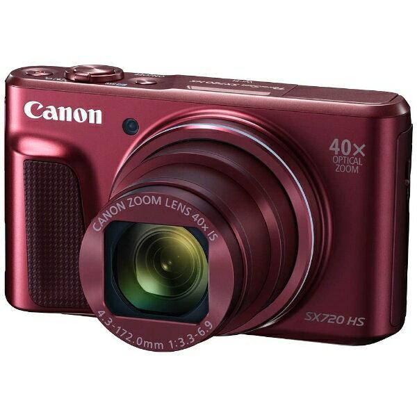 【送料無料】 キヤノン CANON PSSX720HS コンパクトデジタルカメラ PowerShot(パワーショット) レッド[SX720HS]