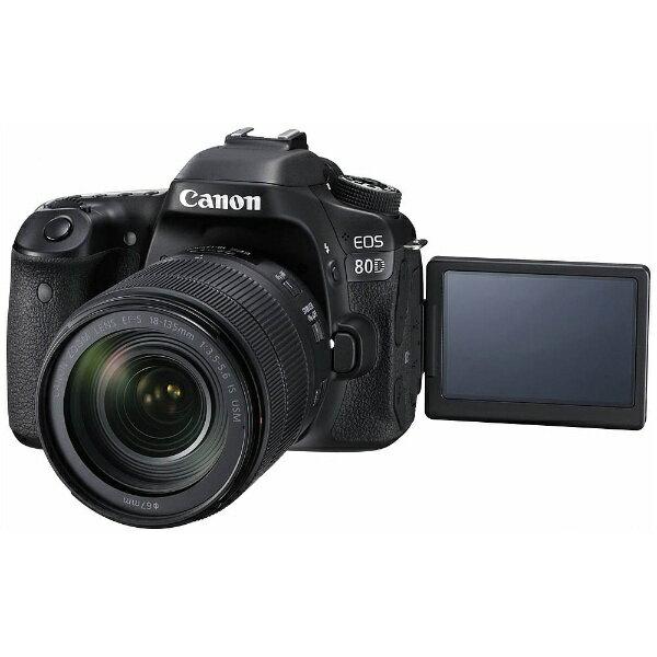 【送料無料】 キヤノン CANON EOS 80D【EF-S 18-135 IS USM レンズキット】/デジタル一眼レフカメラ[EOS80D18135ISUSMLK]
