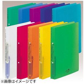 リヒトラブ LIHIT LAB. [ファイル] AQUA DROPs リングファイル<ツイストリング> (色:橙、規格:A4タテ型(S型)2穴) F-5005-4