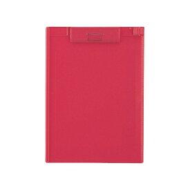 リヒトラブ LIHIT LAB. [クリップボード] クリップボード (色:赤、規格:A4タテ型(E型)) A-977U-3[A977U3クリップボードアカ]