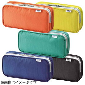 リヒトラブ [ペンケース] SMART FIT bright label ダブルペンケース(L) (色:オレンジ) A-7661-4