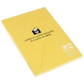エトランジェ etranger [封筒] EDC 洋2封筒 画用紙 (色:ヒマワリ) ENY2-G-06