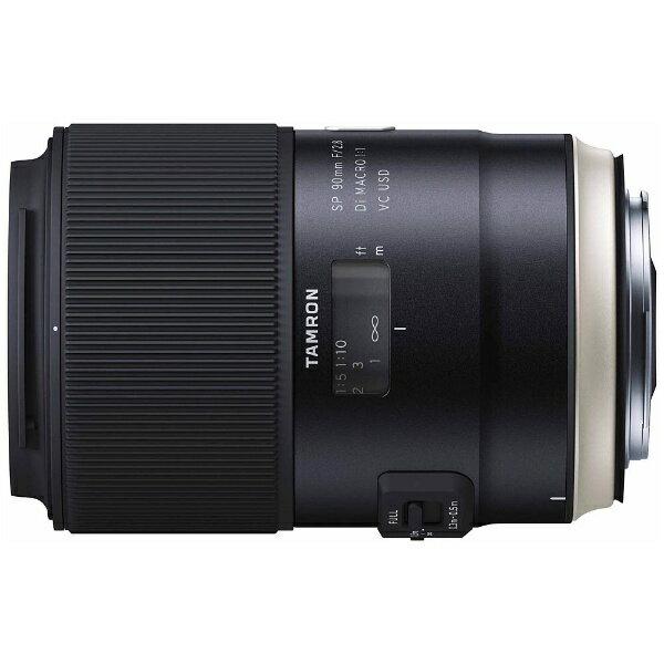 タムロン TAMRON カメラレンズ SP 90mm F/2.8 Di MACRO 1:1 VC USD Model F017【ニコンFマウント】[F017N]