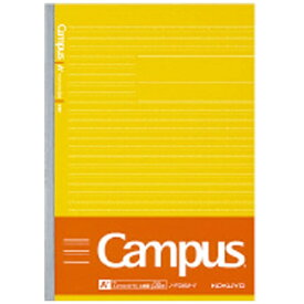 コクヨ KOKUYO [ノート] 学習罫キャンパスノート<文章罫> 黄 (セミB5・7.7mm罫・30枚) ノ-F3AM-Y