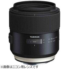 タムロン TAMRON カメラレンズ SP 85mm F/1.8 Di VC USD ブラック F016 [キヤノンEF /単焦点レンズ][F016E]