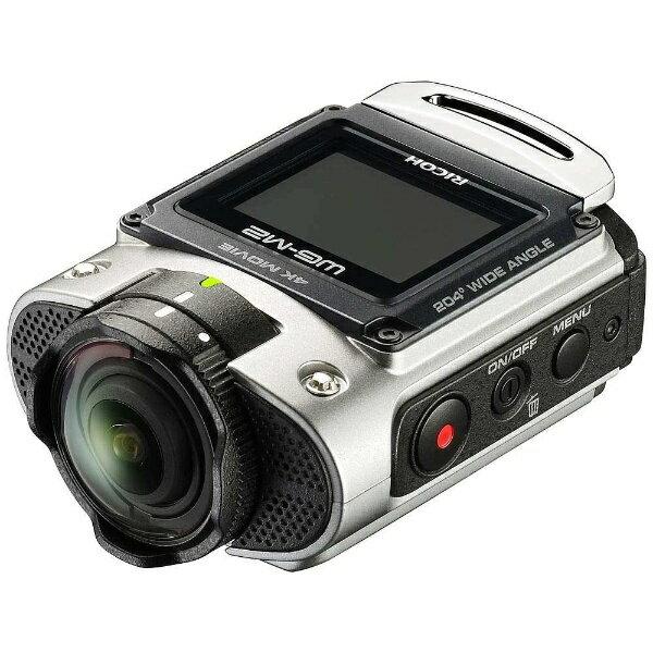 【送料無料】 リコー(ペンタックス) 防水コンパクトデジタルカメラ RICOH WG-M2(シルバー)[生産完了品 在庫限り][WGM2SL]