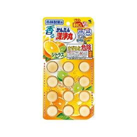 小林製薬 Kobayashi 香るかんたん洗浄丸シトラスの香り12錠【wtnup】