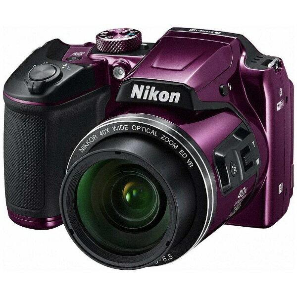 【送料無料】 ニコン コンパクトデジタルカメラ COOLPIX(クールピクス) B500(プラム)