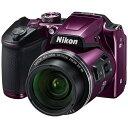 ニコン Nikon B500 コンパクトデジタルカメラ COOLPIX(クールピクス) プラム[B500PU]
