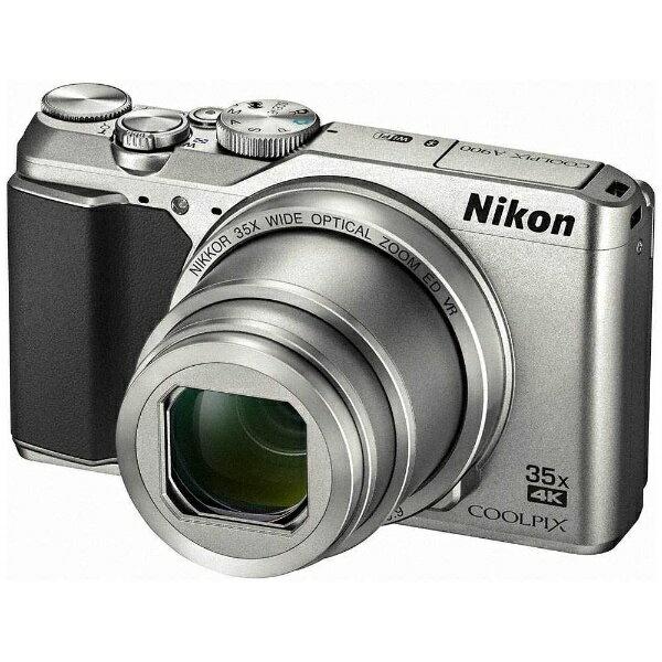 【送料無料】 ニコン コンパクトデジタルカメラ COOLPIX(クールピクス) A900(シルバー)