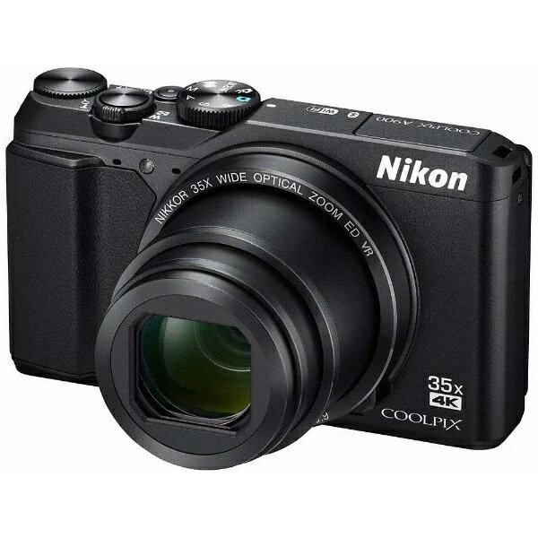 【送料無料】 ニコン コンパクトデジタルカメラ COOLPIX(クールピクス) A900(ブラック)