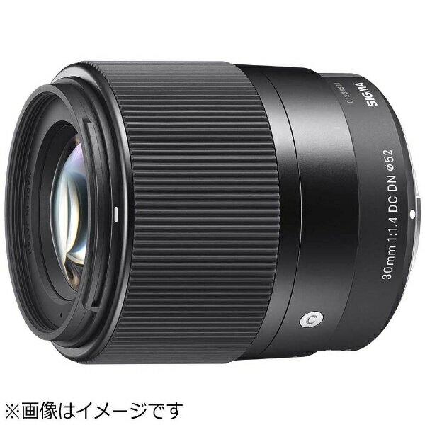 シグマ カメラレンズ 30mm F1.4 DC DN Contemporary【ソニーEマウント(APS-C用)】[30MMF1.4DCDN_CONTEMP]