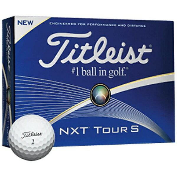 タイトリスト 【スリーブ単位販売になります】ゴルフボール NXTツアーS《1スリーブ(3球)/ホワイト》 【代金引換配送不可】