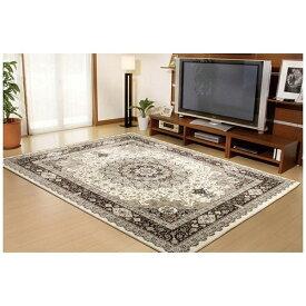 イケヒコ IKEHIKO ラグ トルコ製 ウィルトン織り『ラフィット』(80×140cm/アイボリー)