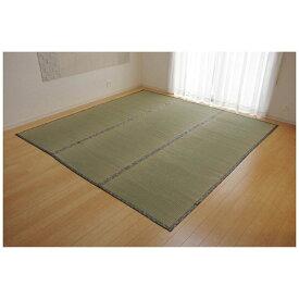 イケヒコ IKEHIKO ラグ い草 糸引織 「湯沢」(261×261cm/ナチュラル)【日本製】