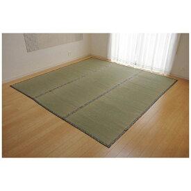 イケヒコ IKEHIKO ラグ い草 糸引織 「湯沢」(191×286cm/ナチュラル)【日本製】
