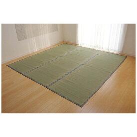 イケヒコ IKEHIKO ラグ い草 糸引織 「柿田川」(176×176cm/ナチュラル)【日本製】