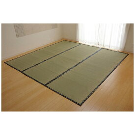 イケヒコ IKEHIKO ラグ い草 糸引織 「梅花」(176×176cm/ナチュラル)【日本製】