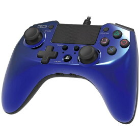HORI ホリ ホリパッドFPSプラス for PlayStation 4 ブルー【PS4/PS3】