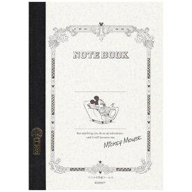ツバメノート [ノート] ツバメノート 《Disney》 ミッキーマウス (A5判・7mm罫・30枚) TBM5729