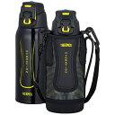 サーモス 真空断熱スポーツボトル (0.8L) FFZ-801F-BKY ブラックイエロー[FFZ801F]