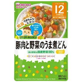 アサヒグループ食品 Asahi Group Foods グーグーキッチン豚肉と野菜のうま煮どん(80g)〔離乳食・ベビーフード 〕【rb_pcp】