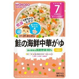 アサヒグループ食品 Asahi Group Foods グーグーキッチン鮭の海鮮中華がゆ(80g)〔離乳食・ベビーフード 〕【rb_pcp】