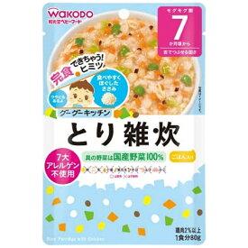 アサヒグループ食品 Asahi Group Foods グーグーキッチンとり雑炊(80g)〔離乳食・ベビーフード 〕【wtbaby】