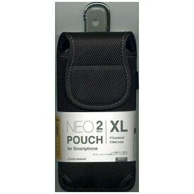 ラスタバナナ RastaBanana スマートフォン用[幅 82mm] NEOPOUCH 2WAY XLサイズ ブラック RBCA121