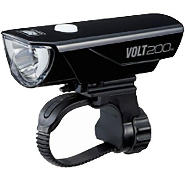 キャットアイ CATEYE USB充電式LEDライト VOLT200(ブラック) HL-EL151RC[HLEL151RC]