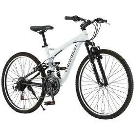 シボレー CHEVROLET 26型 マウンテンバイク CHEVROLET AL-ATB2618EX(ホワイト) 14184-12【組立商品につき返品不可】 【代金引換配送不可】