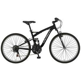 シボレー CHEVROLET 26型 マウンテンバイク CHEVROLET AL-ATB2618EX(ブラック) 14184-01【組立商品につき返品不可】 【代金引換配送不可】