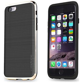 UI ユーアイ iPhone 6s/6用 INO LINE INFINITY STONE BLACK クロームゴールド INO-SBCG[INOSBCG]