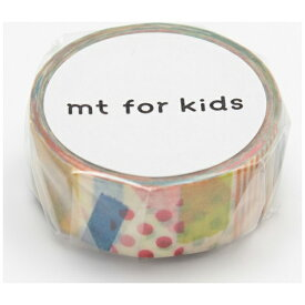 カモ井加工紙 KAMOI mt for kids マスキングテープ(手作りテープ・ぺたぺた) MT01KID020