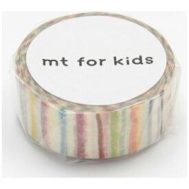 カモ井加工紙 KAMOI mt for kids マスキングテープ(手作りテープ・しましま) MT01KID019