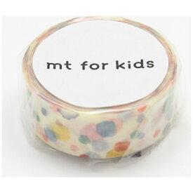 カモ井加工紙 KAMOI mt for kids マスキングテープ(手作りテープ・てんてん) MT01KID021