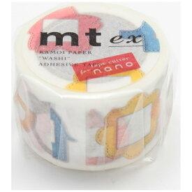 カモ井加工紙 KAMOI mt ex マスキングテープ(名札) MTEX1P93