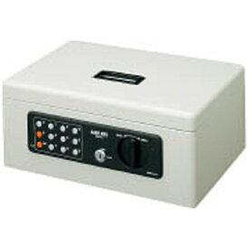 コクヨ KOKUYO CB-T11M 手提金庫 A4 ライトグレー [鍵式+テンキー式]