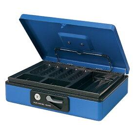 プラス PLUS CB-040G-BL 手提金庫 L 13-127 ブルー