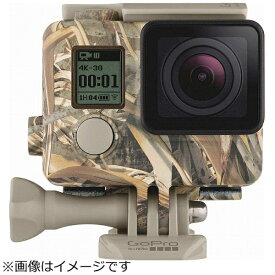 GoPro ゴープロ GoPro カモフラージュハウジング + Quickclip (Realtree MAX-5) AHCSH-002[ゴープロ アクセサリー AHCSH002]