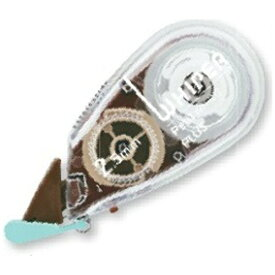 プラス PLUS [修正テープ] ホワイパープチ 新クリアカラー (ブラウン/テープ幅:2.5mm) WH-812