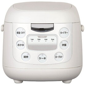 イーバランス E-BALANCE EB-RM6200K 炊飯器 ROOMMATE(ルームメイト) ホワイト [3.5合 /マイコン][EBRM6200K] [一人暮らし 単身 単身赴任 新生活 家電]