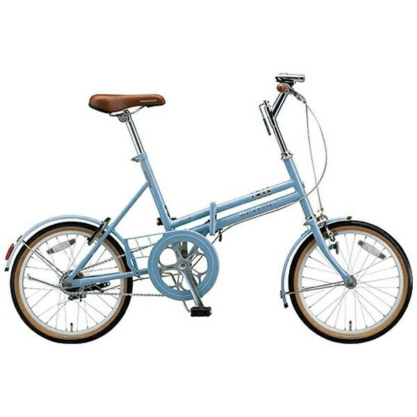 【送料無料】 ブリヂストン 18型 折りたたみ自転車 MarkRosa F(E.XHブルーグレイ/シングルシフト) M80F5【組立商品につき返品不可】 【代金引換配送不可】