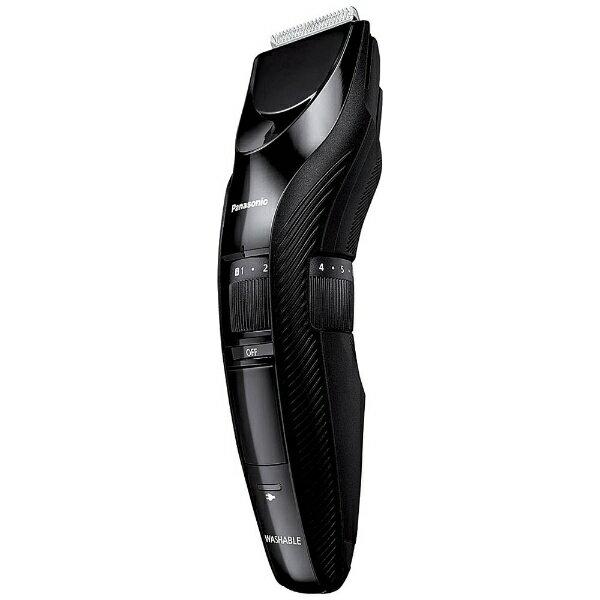 パナソニック Panasonic ≪国内・海外兼用≫[AC100-240V] メンズヘアーカッター ER-GC52-K 黒[ERGC52K]
