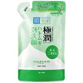 ロート製薬 ROHTO 肌研(肌ラボ)極潤 ハトムギ泡洗顔(140ml)つめかえ用〔泡洗顔料〕【wtcool】