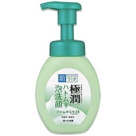 ロート製薬 ROHTO 肌研(肌ラボ)極潤 ハトムギ泡洗顔(160ml)〔泡洗顔料〕
