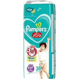 P&G ピーアンドジー Pampers(パンパース) さらさらケア パンツ ビッグサイズ(12kg-22kg) 38枚〔おむつ〕【rb_pcp】